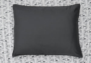 PILLOW SHAM - Solid Slate (one per package)