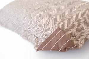PILLOW SHAM - The Fall Herringbone (one per package)