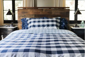 BUFFALO CHECK (NAVY/WHITE) - COMFORTER