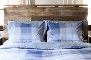 GO PLAID (BLUE) - COMFORTER