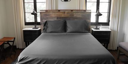 SHEET SET - SOLID (SLATE)