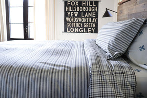 TICKING STRIPE - DUVET COVER