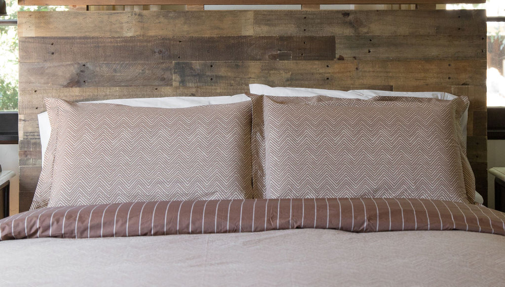 THE FALL HERRINGBONE - DUVET COVER