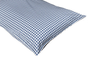 Additional Pillow Cases - Houndstooth Navy (two per package)