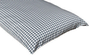 Additional Pillow Cases - Houndstooth Slate (two per package)