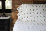 SHEET SET - PINEAPPLES & PALMS
