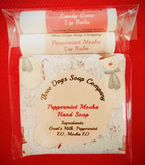Three Dogs Soap Company - Soap and Chapstick Gift Bundle
