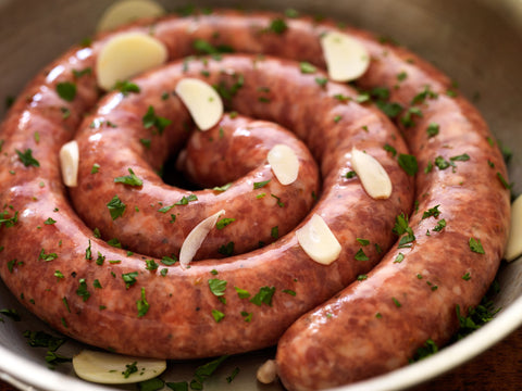 Hot Italian Rope Sausage (3 lbs avg)