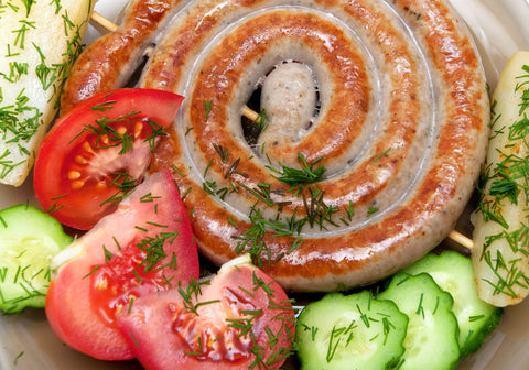 Sweet and Hot Italian Rope Sausage (av 2.3 lbs)