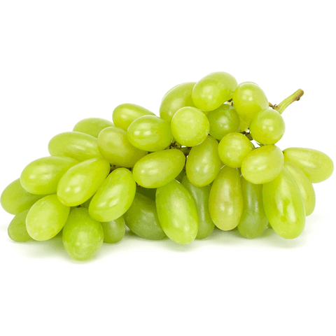 Jumbo Green Seedless Grapes (2 lbs)