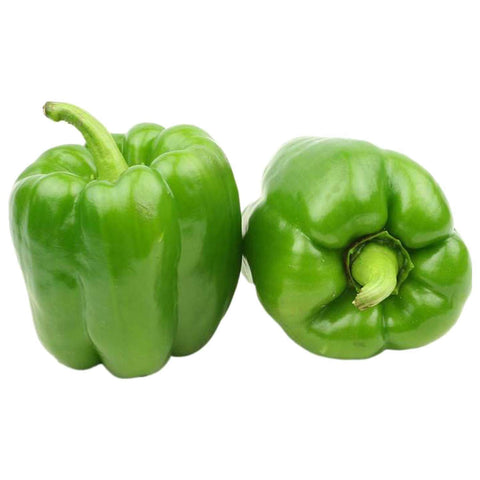 Green Sweet Peppers