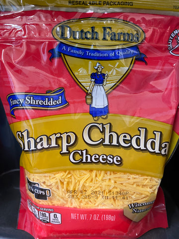 Sharp Cheddar Shredded