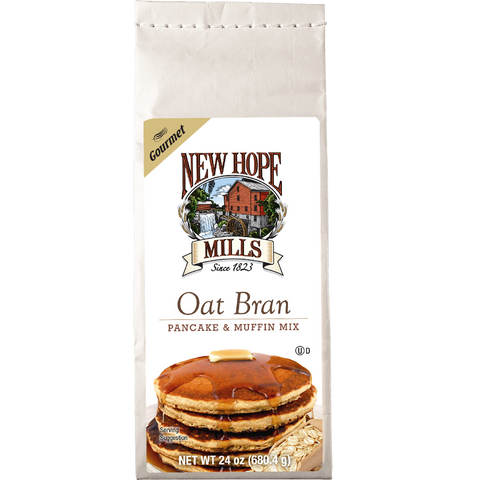Oat Bran Pancake and Muffin Mix