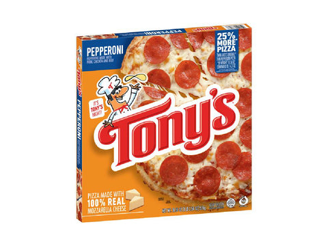 Tony's Pepperoni Pizza  18.56 oz.