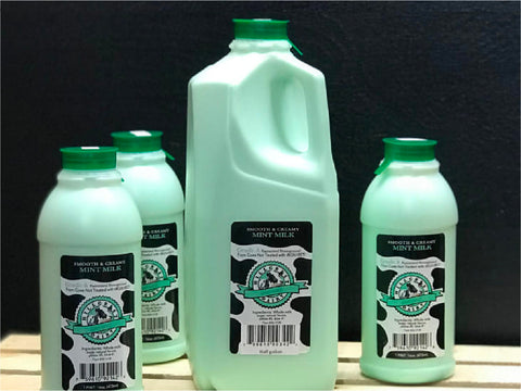 Hillcrest Dairy Grade A Milk - Mint Flavor (Limited Time Only!)