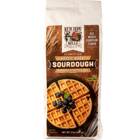 Rustic Wheat Sourdough Pancake and Waffle Mix