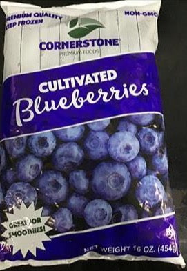 Frozen Whole Blueberries (1 lb)