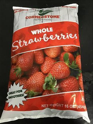 Frozen Whole Strawberries (1 lb)