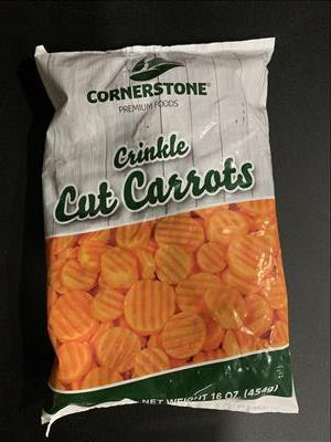 Crinkle Cut Carrot (1 lb)