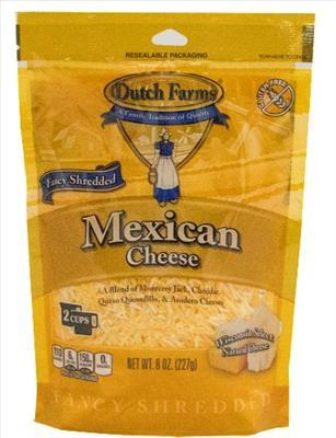 Shredded Mexican Cheese Blend (8 oz)