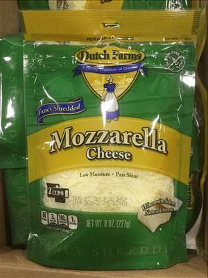 Shredded Mozzarella Cheese (8 oz)