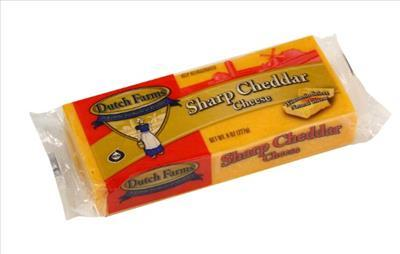 Sharp Yellow Cheddar Cheese (8 oz)