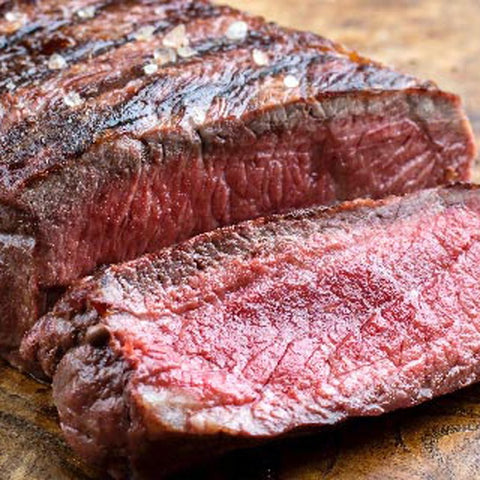 Organic Beef: Boneless Sirloin Steak (avg .8 -1 lb per pkg)