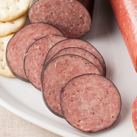 Speciality Beef: German Summer Sausage (fully cooked)