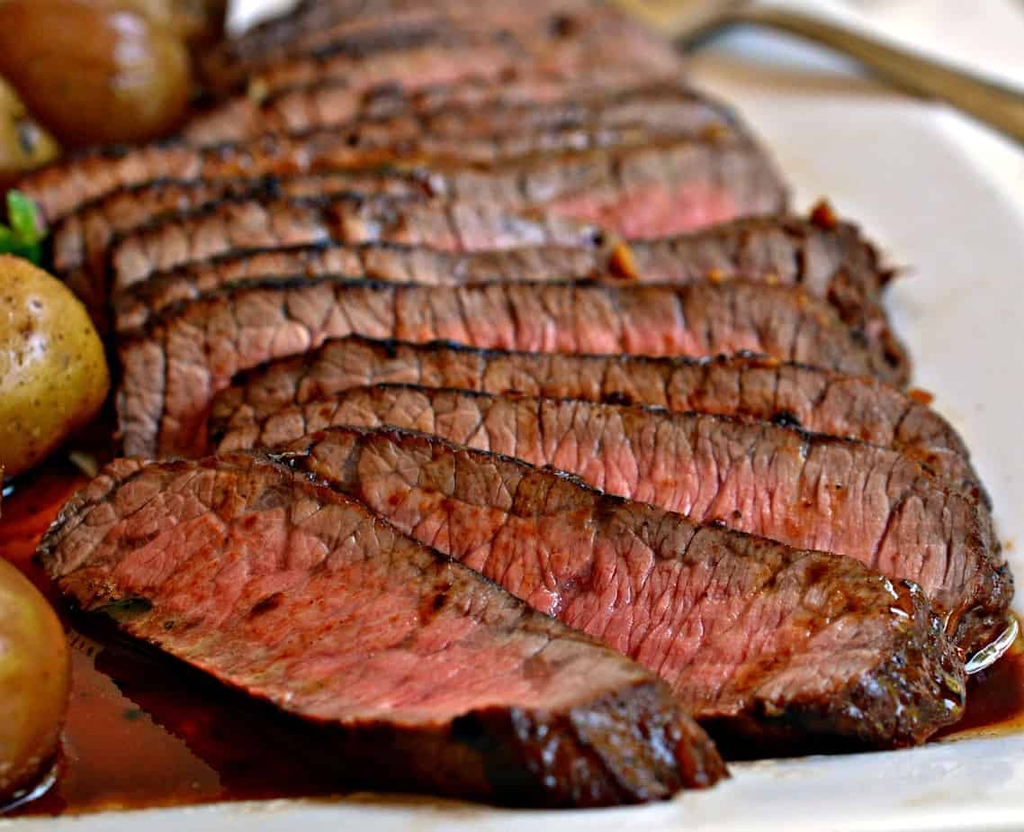 Organic Beef: London Broil 2 lb. avg.