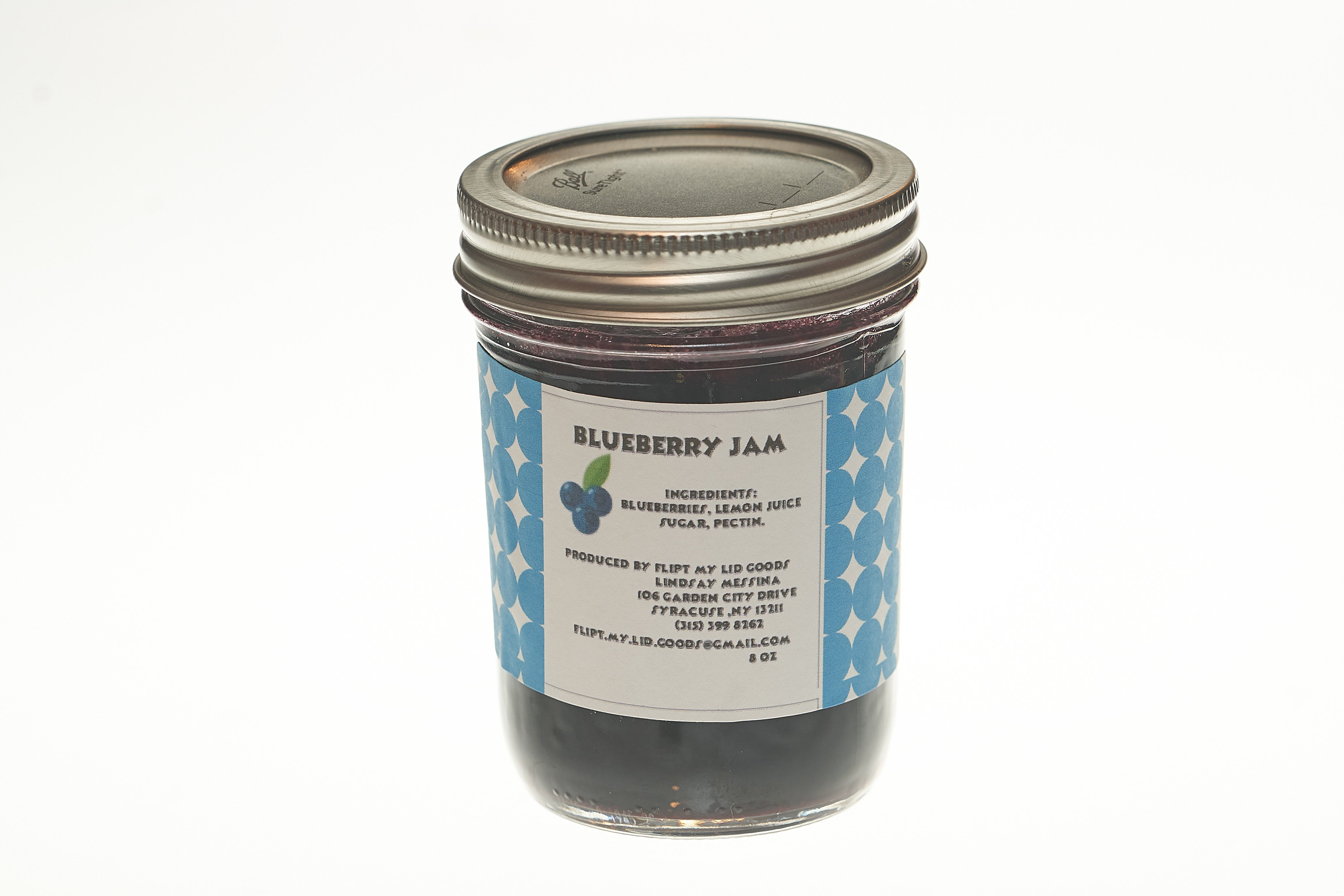 Sugar-free Blueberry Jam (8 oz)