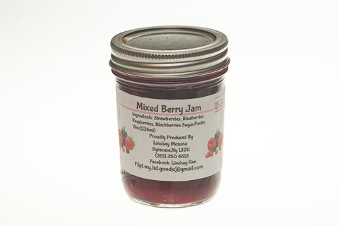 Mixed Berry Jam (8 oz)