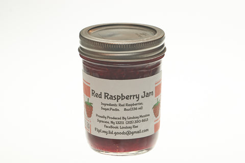 Sugar-Free Red Raspberry Jam (8 oz)