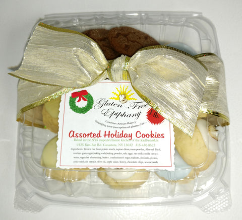 Assorted Holiday Cookies - Gluten Free (1 lb)