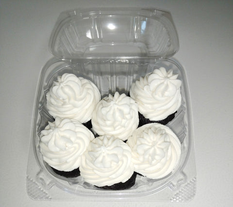 Mini Cupcakes, Chocolate - Gluten Free (6 pk)