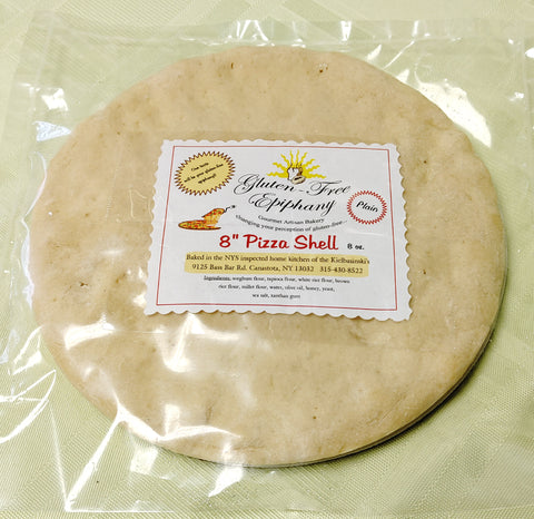 Pizza Shell - Gluten Free (8 inch)