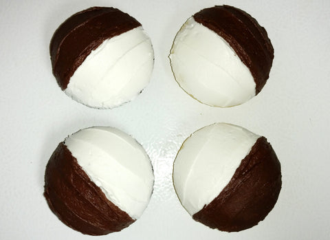Half Moon Cookies, Chocolate and Vanilla - Gluten Free (4 pk)