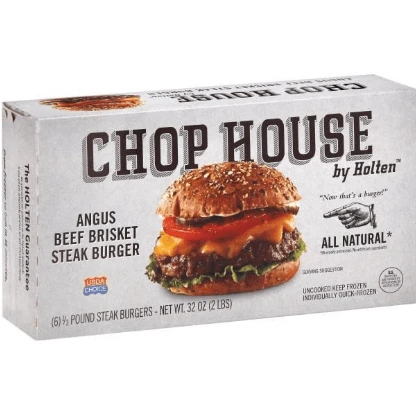 Angus Beef Brisket Steak Burger (2 lbs)