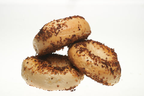 Garlic Bagels