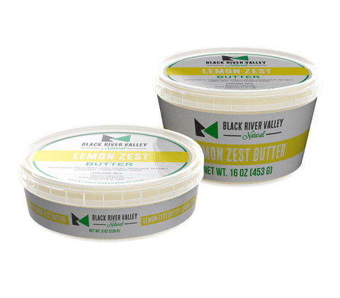 Sweet Cream Butter: Lemon Zest