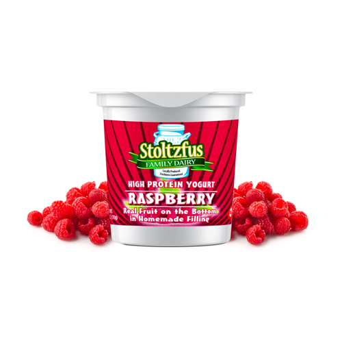 Stoltzfus Family Dairy Yogurt: Raspberry