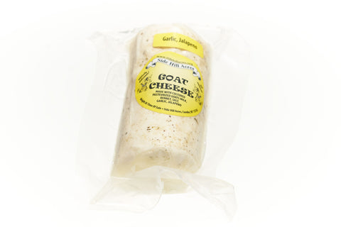 Goat Cheese Log: Garlic Jalapeno