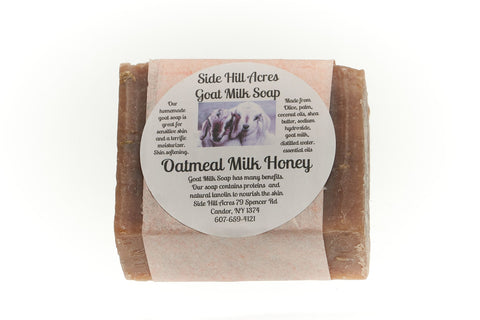 Goat Milk Soap: Oatmeal Milk Honey