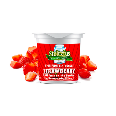 Stoltzfus Family Dairy Yogurt: Strawberry