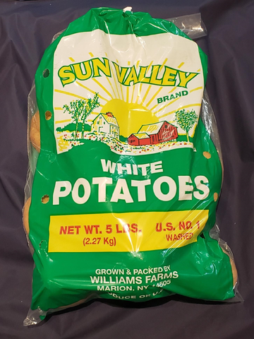 White Potatoes (5 lbs)