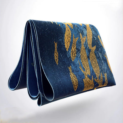 Travel Suede Rubber Yoga Mat