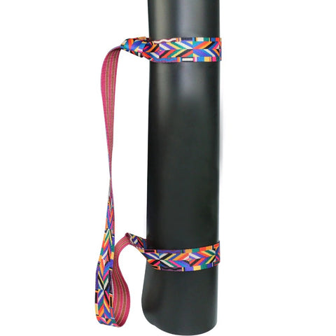 Adjustable Yoga Mat Carry Strap Cotton Durable Sport Stretch Strap Gym Waist Leg Fitness Carrying Slings Shoulder Carry Straps