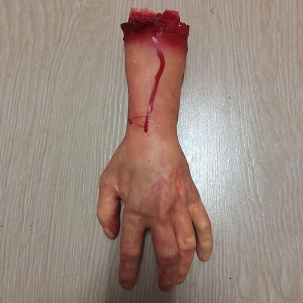 Scary Body Parts for Halloween Decorations