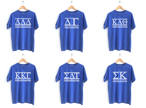 Classic Greek Letters Tees