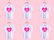 Barbie Heart Sorority Tee