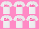 Double Bubble Barbie Sorority Tee